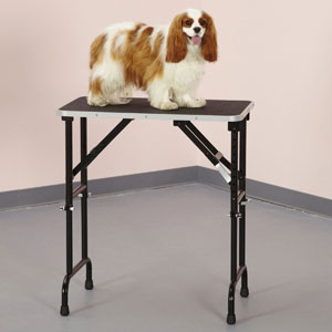 Master Equipment Adjustable Height Grooming Table