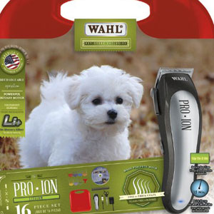 Wahl Professional Animal PRO ION Home Pet Grooming Kit