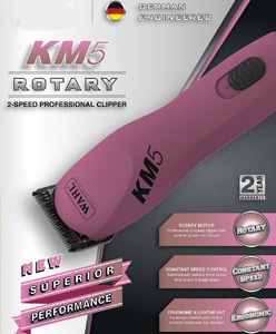 Wahl Professional Animal KM5 2 Speed Clipper Kit