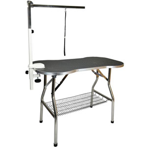 Flying Pig Bone Pattern Grooming Table