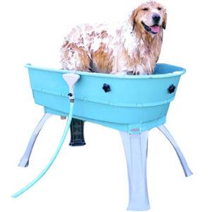 Booster Bath Elevated Pet Bath Tub