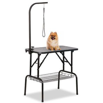 Yaheetech Professional Foldable Pet Grooming Table