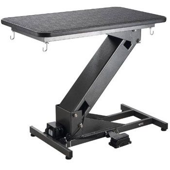 Ultra Low Z Lift Electric Grooming Table