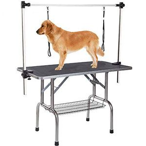 Gelinzon Professional Foldable Pet Dog Grooming Table